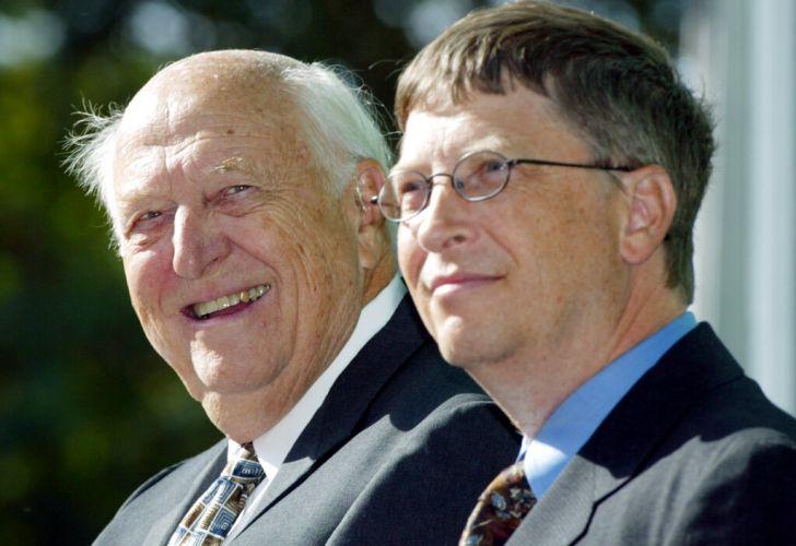 Bill Gates despidió a su padre con un emotivo mensaje | Perfil