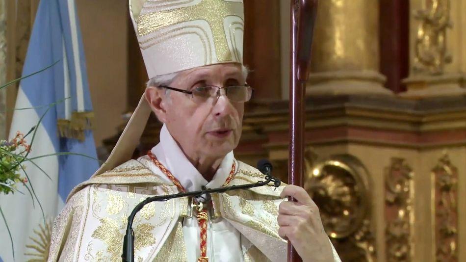 Mario Poli, arzobispo de Buenos Aires.