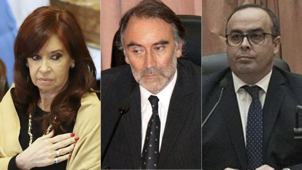 Cristina y los jueces Bruglia y Bertuzzi 20200915