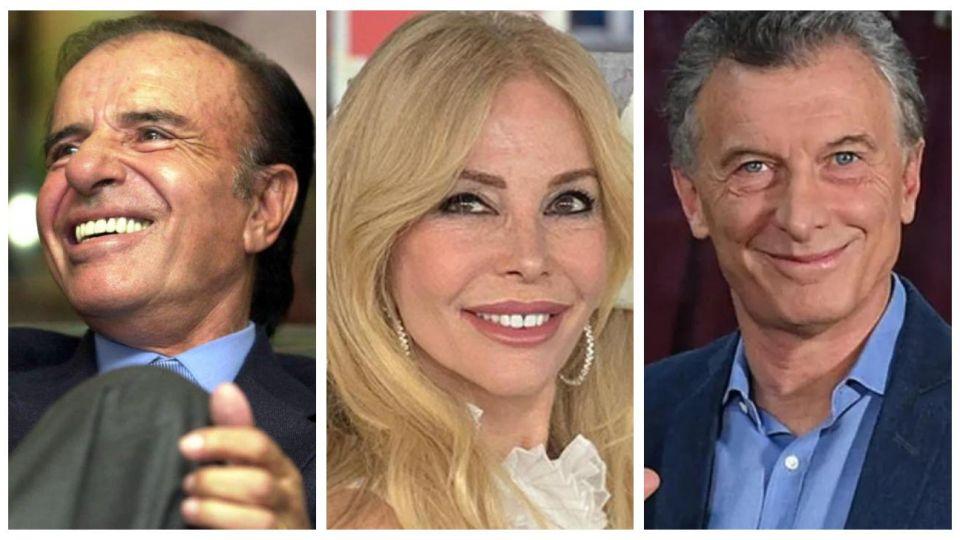 Graciela Alfano habló de su romance con Carlos Menem y Mauricio Macri