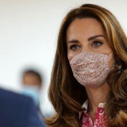 Kate Middleton reapareció luego de 40 días y escogió un vestido muy particular