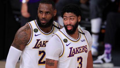 LeBron James quiere estar en Orlando para la continuidad de la NBA. Hay jugadores que se oponen. // AFP