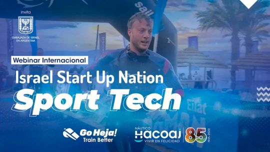 "webinar internacional ""Israel Start Up-Sport Tech"""