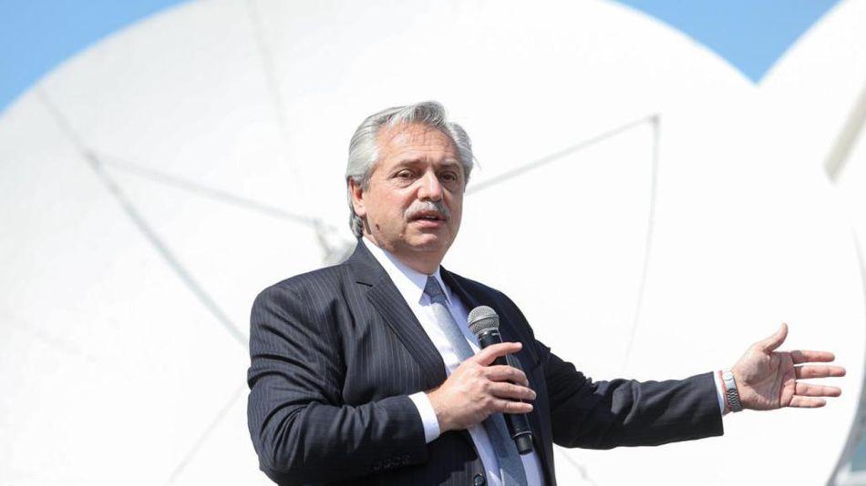 El presidente Alberto Fernández 20200916