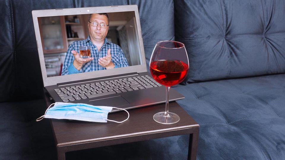 consumo de alcohol en cuarentena
