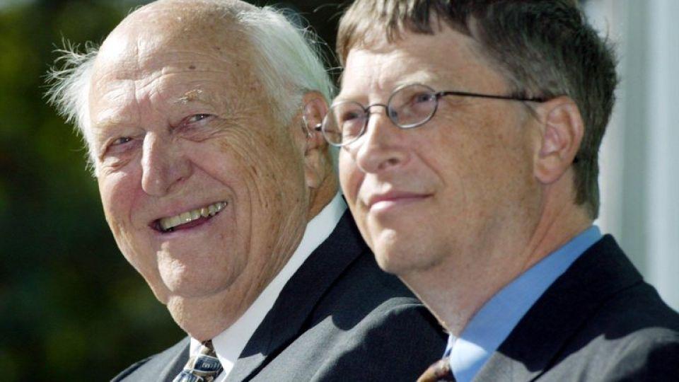 Falleció el padre de Bill Gates