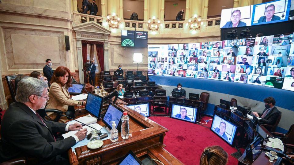 Senado de la Nación.