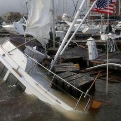 Imágenes del paso del huracán Sally por los Estados Unidos