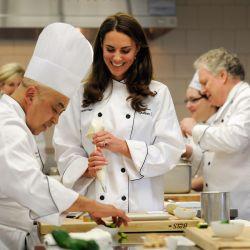 Los Cambridge se animaron a la cocina.