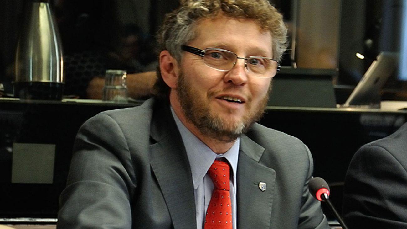 Fabián Salvioli, relator especial de la ONU.