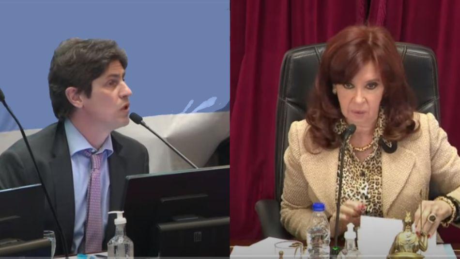 Cristina Fernández de Kirchner y Martín Lousteau
