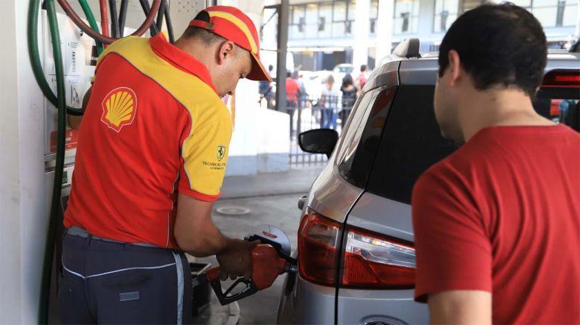 Aumento de combustibles.