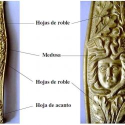 Todos los detalles del sable de oficial Mod. 1910 del Ejército Argentino