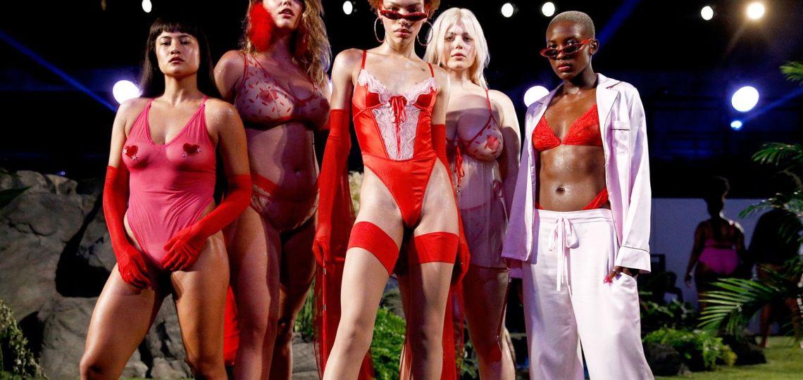 Rihanna vuelve a la carga contra el modelo de lencería de Victoria's Secret