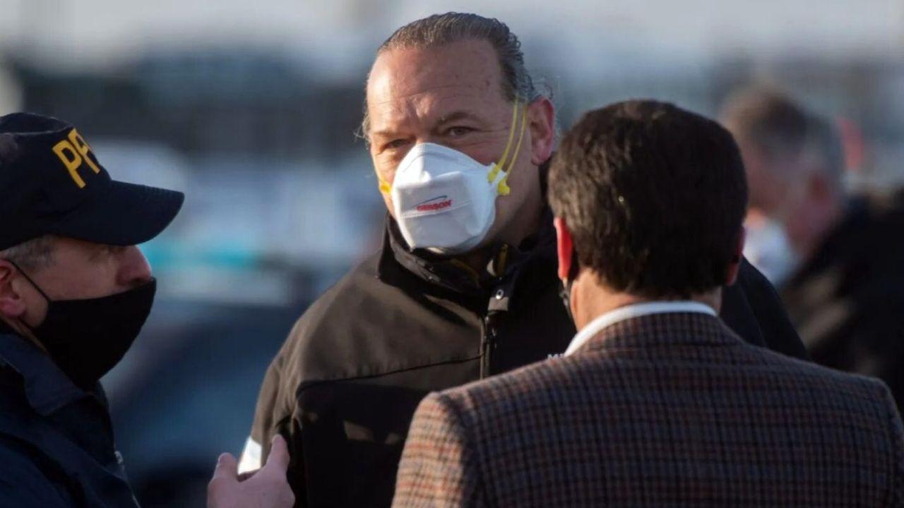 Berni tras los responsables de las protestas policiales.  | Foto:CEDOC