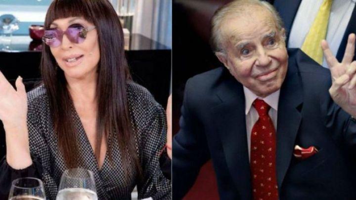 Moria Casán contó detalladamente las intimidades sexuales de Carlos Menem