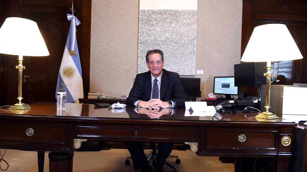 El titular del Banco Central, Miguel Pesce.