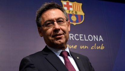 Josep María Bartomeu, presidente del FC Barcelona. // NA