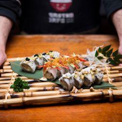 Sushi fusión.