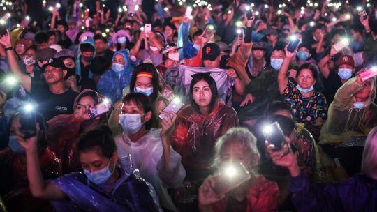 Fotogaleria Tailandia Protestas