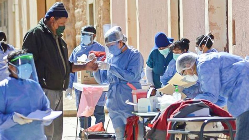 Aumento de casos de coronavirus en varias provincias.