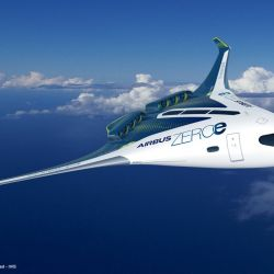 El ala integrada podrá transportar a unos 200 pasajero.