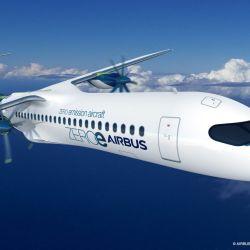 El segundo avión tendrá una capacidad para 100 pasajeros y contará con dos motores turbohélice híbridos de hidrógeno.