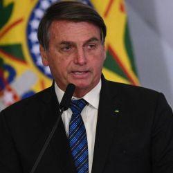 Bolsonaro abrió la ronda de discursos en la 75° Asamblea General de la ONU.  | Foto:DPA