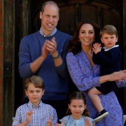 Kate y sus hijos.