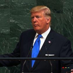 Trump centró su discurso en la política exterior de su gestión.  | Foto:CEDOC