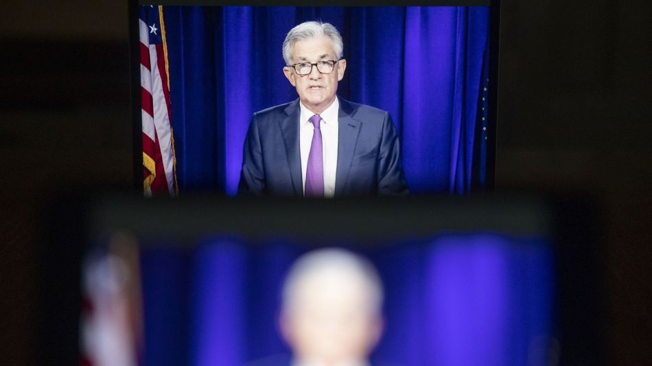 Fed Chair Powell Holds Video News Conference Following FOMC Rate Decision