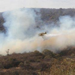 Los incendios no impiden en absoluto el desarrollo de las distintas actividades recreativas que se llevan a cabo en la zona de La Cumbre.a zona