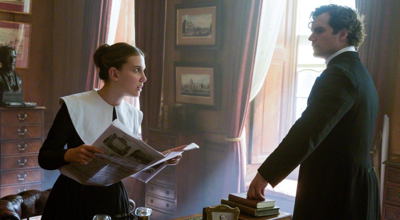 Entrevista con el protagonista de Enola Holmes.