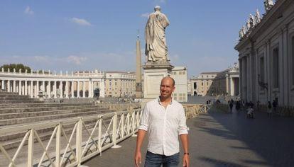 sergio Decuyper en Roma