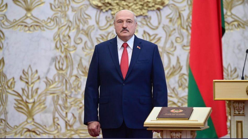 Lukashenko asumió un nuevo mandato en secreto 20200923