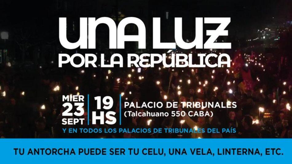 """""""Una luz por la república"""""""