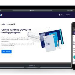 United Airlines puso a disposición de sus pasajeros las pruebas Covid-19 y se convirtió así la primera aerolínea estadounidense en lanzar un programa de pruebas piloto para viajeros.