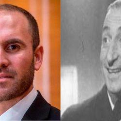 Martín Guzmán y Fidel Pintos