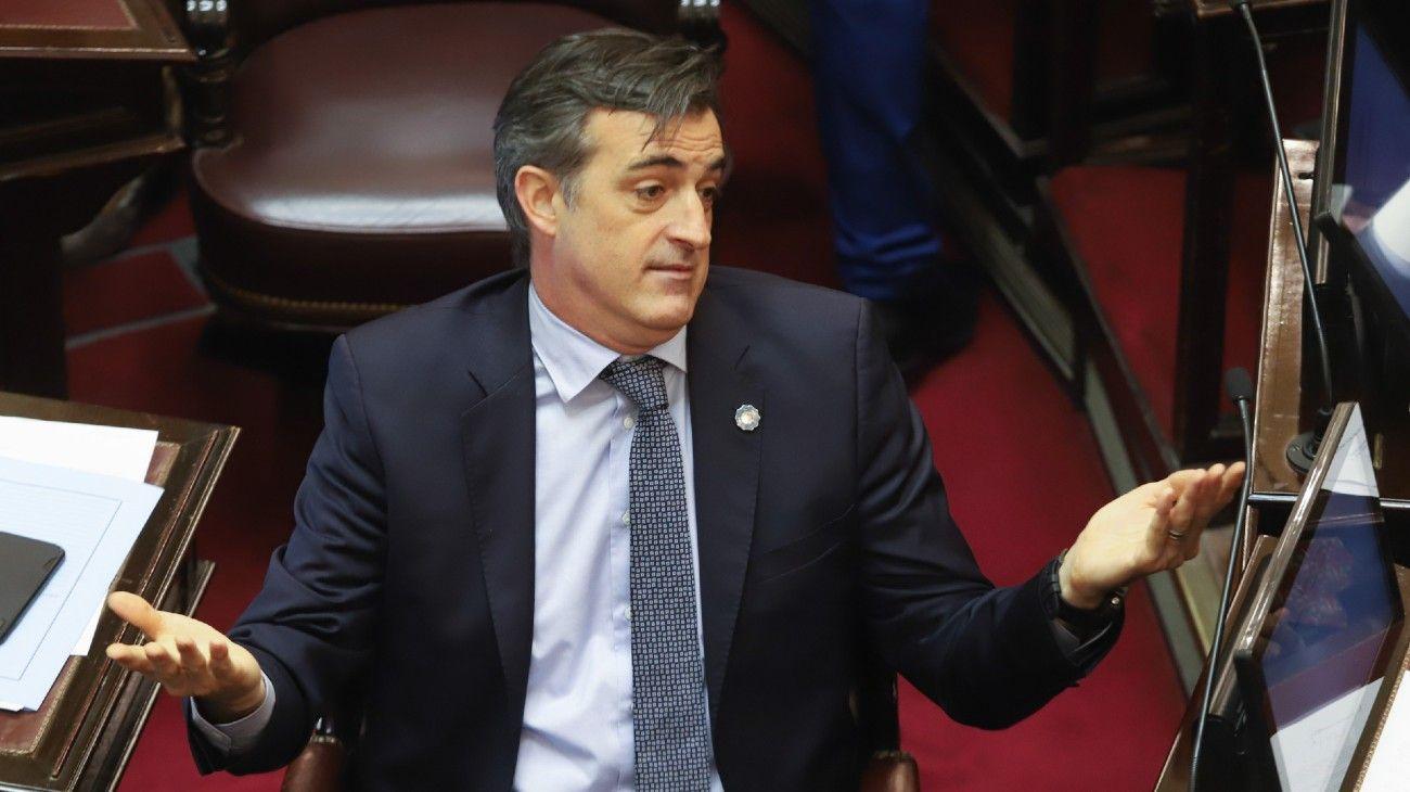 El senador Esteban Bullrich.