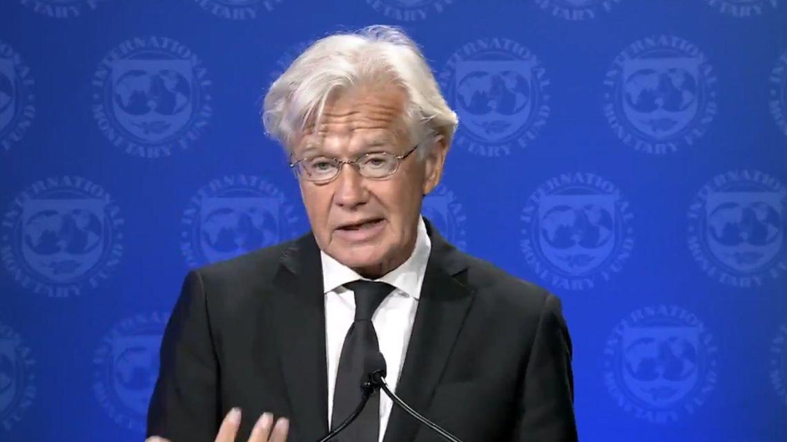 IMF Spokesman Gerry Rice.