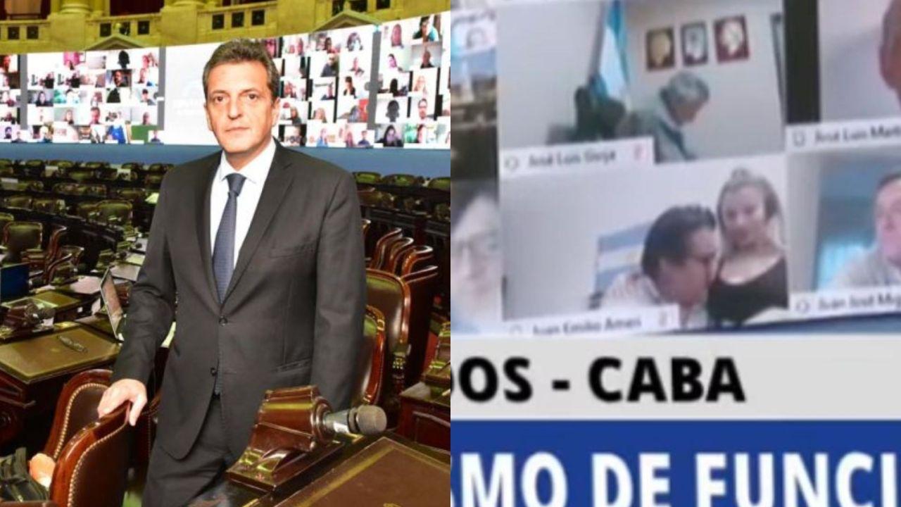Sergio Massa sobre el diputado Ameri   Foto:Cedoc