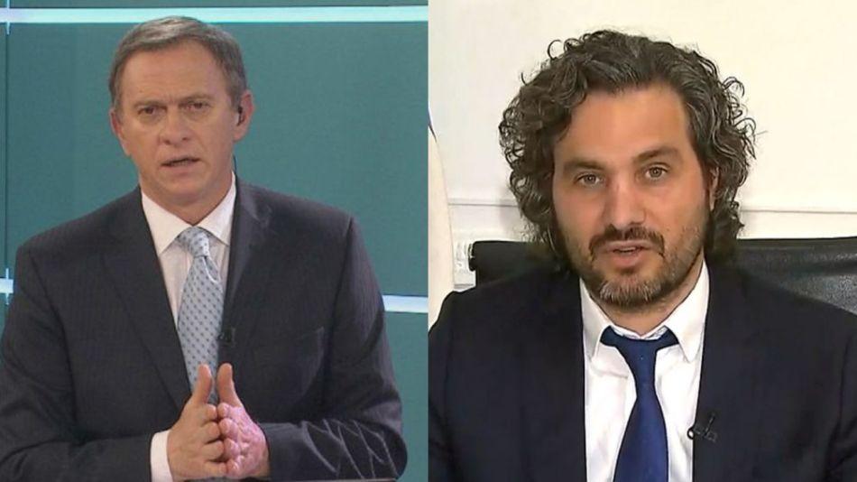 Santiago Cafiero y Marcelo Bonelli