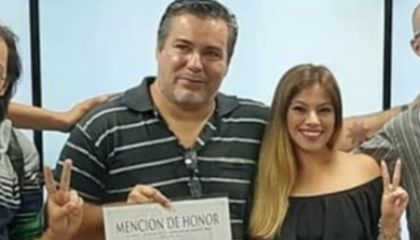 Juan Ameri y Cecilia Burgos