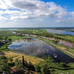 """El conjunto de islas, lagunas y bañados conforman el denominado Parque Regional, Forestal y Botánico """"Rafael de Aguiar"""