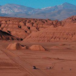 El Desierto del  Diablo es una  muestra perfecta  –una extensión aislada– del Desierto de Atacama.