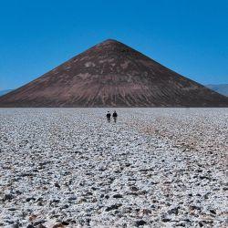 El Cono de Arita es un pequeño volcán que nunca explotó.
