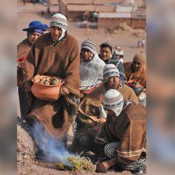 El 31 de agosto el pueblo celebra la Fiesta de la Pachamama.