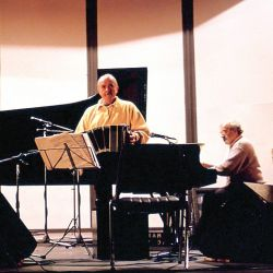 Piazzolla, considerado internacionalmente como uno de los músicos más importantes del siglo XX. | Foto:CEDOC