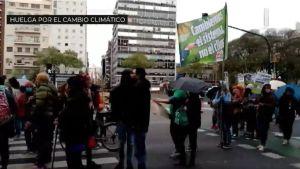 Huelga mundial por la crisis climática: