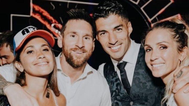 El emotivo mensaje de Lio Messi y Antonela Roccuzzo a Luis Suárez y su esposa